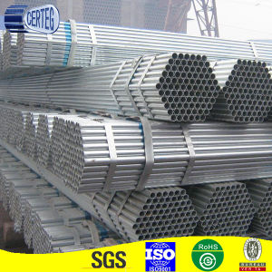 Pre Galvanized Greenhouse Round Steel Pipe Size pictures & photos
