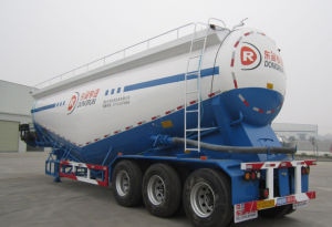 2axles Heavy Duty Tank Semi Trailer