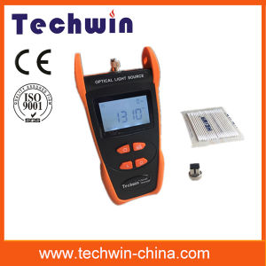 Tw3109e Cost-Effective Fiber Tester Techwin Light Source pictures & photos
