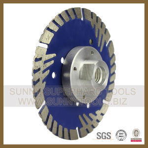 Turbo Diamond Blade Flange for Stone Concrete Cutting (SY-TDBF-1002) pictures & photos