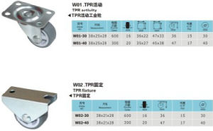 Wheel Castor for Medical Appliance pictures & photos
