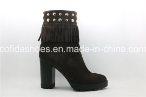 Fashion Comfort High Heel Women Boots for Elegant Ladies pictures & photos
