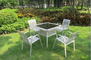 Professional Supplies Patio Furniture Rattan Wicker Dining Set (DS-15583) pictures & photos