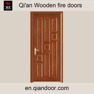 Black Walnut Wooden Composite Fire Door pictures & photos