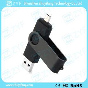 Black Suit Rotating 32GB OTG USB for Samsung Phones (ZYF1626)