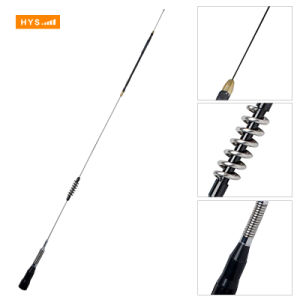 Stainless Steel 29/50/118/144/435MHz Multi Band Omni Mobile Car Radio Antenna