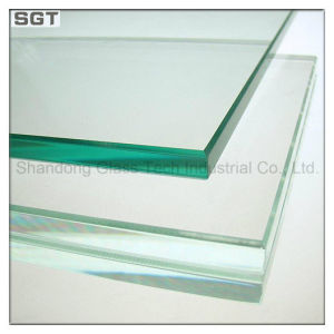 10mm-19mm Safety Low Iron/Ultra Clear Tempered Glass for Shower Room pictures & photos
