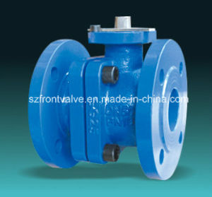 DIN Cast Iron/Ductile Iron Flanged End Ball Valve pictures & photos