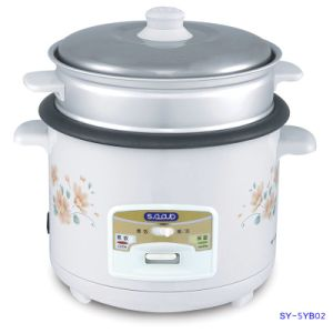 Sy-5yb02 5L Open Lid Rice Cooker with Congee Function