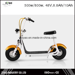 2016 Most Fashionable Smart Harley Electric Scooter Citycoco Scooter Two Big Wheels for Cool Sports Small Harley Scooter pictures & photos