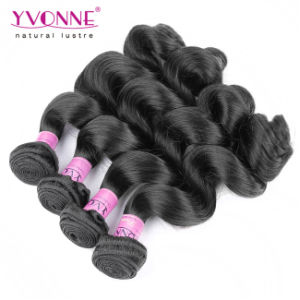 New Style Top Quality Brazilian Virgin Human Hair Weft pictures & photos