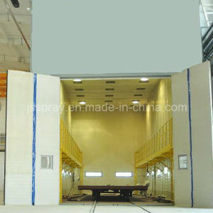 China Steel Plate Surface Painting Line with Shot Blasting Machine