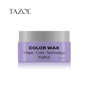 Tazol Temporary 3 in 1 Hair Color Wax Hair Stlyling pictures & photos