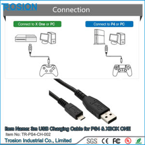 3m USB Charging Cable for PS4 & xBox One Controller