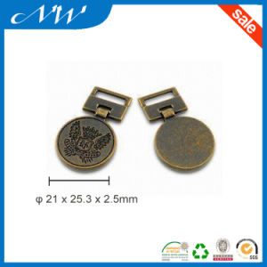 Alloy Metal Plate with Color of Anti-Brass