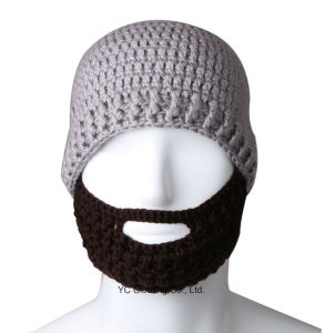 Promotional Custom Top Knitted Beard Hats pictures & photos