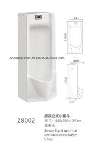 Z8001 Stand-up Sensor Ceramic Urinal, Public Urinal, Washdown Type pictures & photos