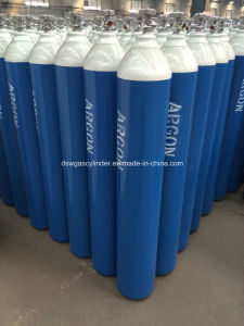 Hot Sale 40L Steel Argon Gas Cylinders (W. P. =15MPa, 6m3) From China Factory pictures & photos