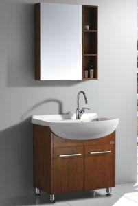 Oak Veneer Bathroom Vanity #Yjb-2012 (27) pictures & photos