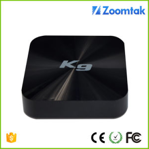 Zoomtak K9 Amlogic S905 Quad Core Internet TV Cable Box 4k Ott Smart TV Box pictures & photos