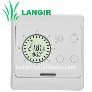 E6 24 Hours Programming Underfloor Heating Thermostat, Heating Thermostat with LCD Screen pictures & photos