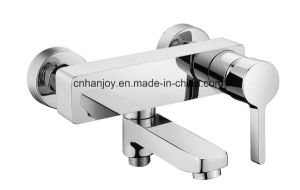 Wall Mounted Single Handle Bathtub Faucet (H17-102) pictures & photos