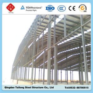 Mordern Design Steel Structure Workshop with Short Construction Time pictures & photos