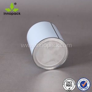 Customized Printing Tin Plate 1liter Round Metal Tin Cans with Lids pictures & photos