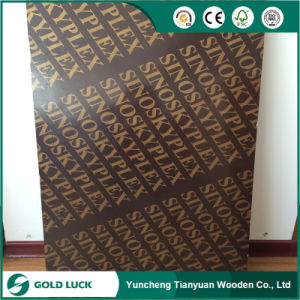18mmx1220*2440mm Waterproof Concrete Formwork Plywood pictures & photos