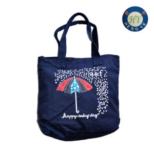Fashion Desiged Canvas Shopping Bag Hy0404