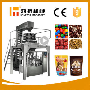 Automatic Pouch Filler Machine Ht-8g pictures & photos