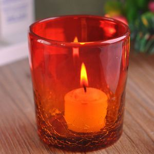 Ice Crack Glass Candle Jar pictures & photos