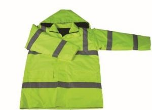 High Visibility Winter Reflective Jacket Coat Water Proof Parka pictures & photos