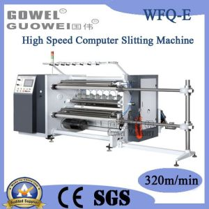 High Speed Computer Film Slitting Machine in Sale (WFQ-E) pictures & photos