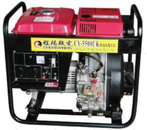 Recoil / Electric Diesel Generator (CY-5500ck) pictures & photos