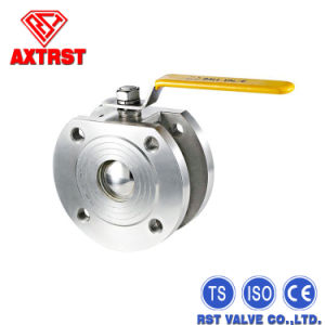 Stainless Steel Pn16/40 Wafer Type Ball Valve pictures & photos