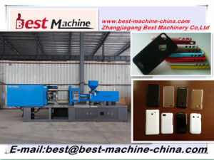 Standard Plastic Phone Shell Injection Moulding Making Machine Price in China pictures & photos