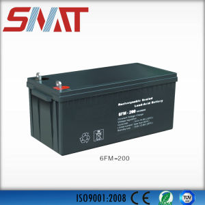 12V/200ah Lead-Acid Solar Inverter Batteries for Solar Power System pictures & photos