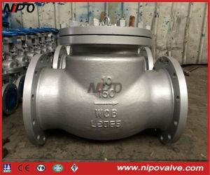 Cast Steel Bolt Bonnet Flanged Swing Check Valve pictures & photos