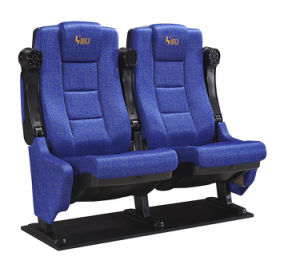 Auditorium Cinema Chair with Folding Armrest pictures & photos