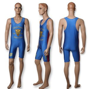 Custom Made Sublimated Wrestling Singlets pictures & photos