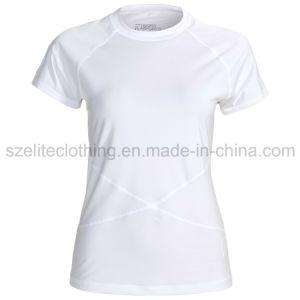 Women White Stretch T-Shirts (ELTWTJ-109) pictures & photos