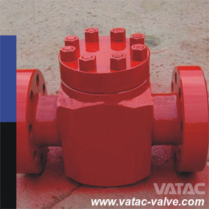 API 6A 1000psi~20000psi Piston/Swing Type Check Valve for Oil Well Equipments pictures & photos
