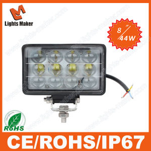 2015 LED 4D Work Light CREE Superbright 8inch 44W LED for Car Headlight Auto LED Headlamp