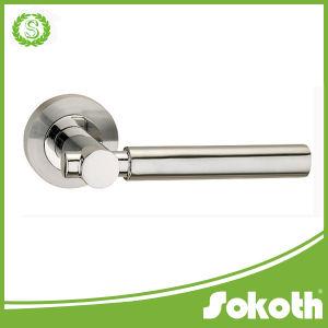 Aluminium Door Handle with Locker, Russian Door Handle pictures & photos
