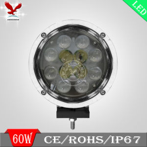 60W CREE Silver Edge LED Offroad Work Light Car (HCW-L6061)