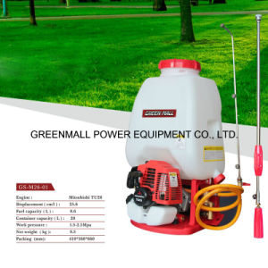 Knapsack Power Sprayer Powered by Mitsubishi Engine (TU26) (GS-M26-01) pictures & photos