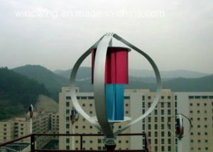 Home Use 400W Vertical Axis Wind Turbine Generator (200W-5KW) pictures & photos