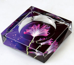 Colorful Crystal Glass Cigar Ashtray for Home Decoration pictures & photos