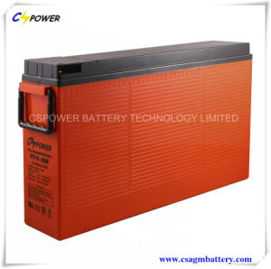 CE Approved Front Terminal Battery Accumulators Telecom Battery 12V120ah pictures & photos